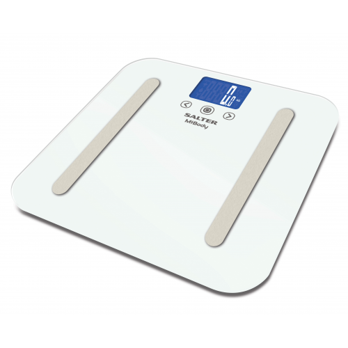 Salter 9154 White MiBody Bluetooth Analyser Scale