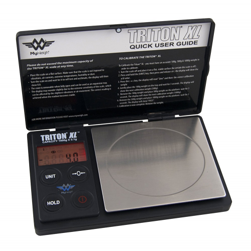 My Weigh Triton XL 1000g x 0.1g Portable Scale