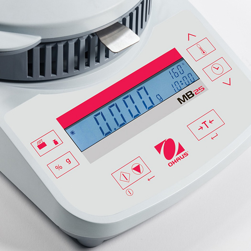 OHaus MB25 Compact Quick Drying Halogen Moisture Analyser