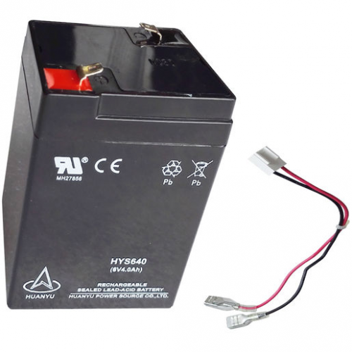 OHaus Rechargeable Lead Acid Battery 6V4AH
