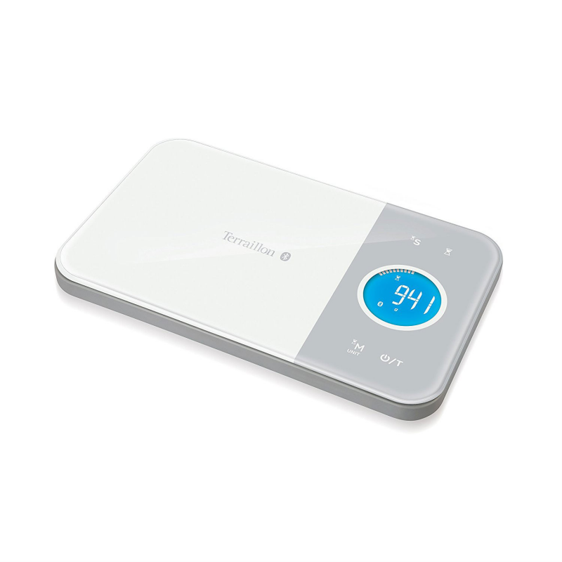 Terraillon NutriTab Connected Bluetooth Wireless Digital Kitchen Scales