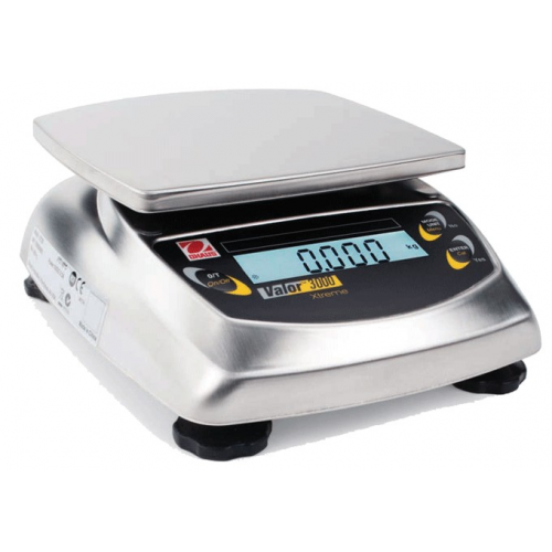 OHaus Valor 3000 Full Stainless Steel Portable Scale