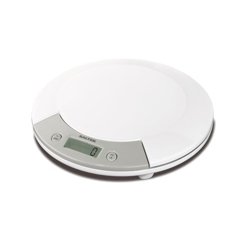 Salter 1015 White Electronic Kitchen Scale