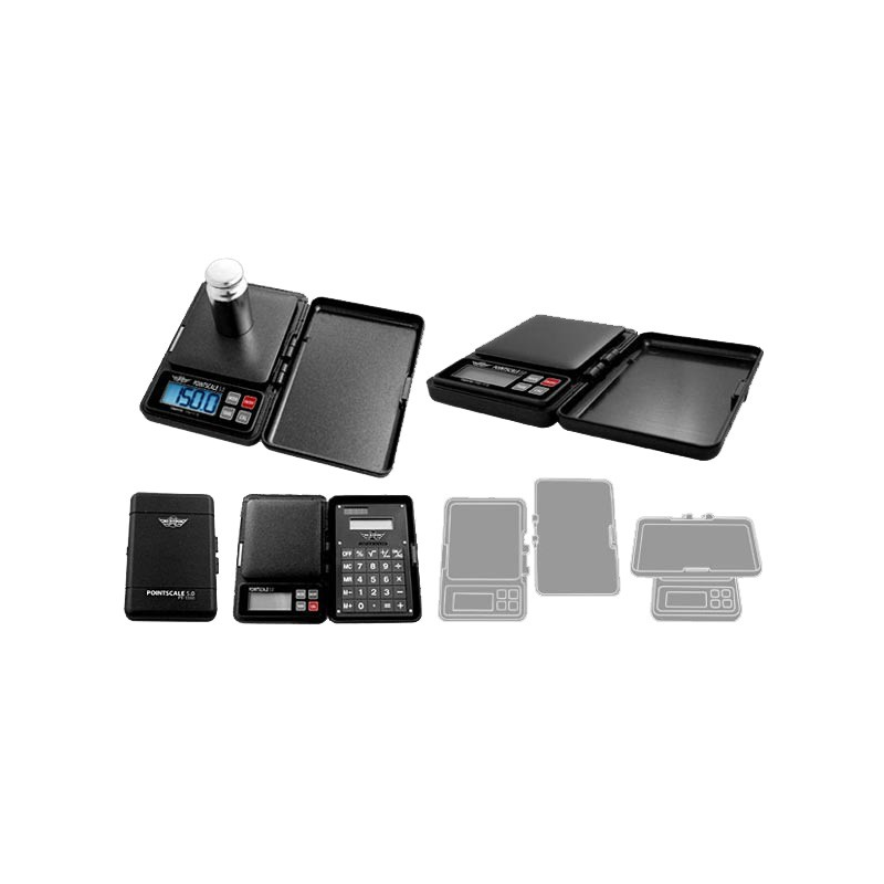 My Weigh Pointscale 5.0 500 gram Portable Jewellers Scale plus Calculator Cover