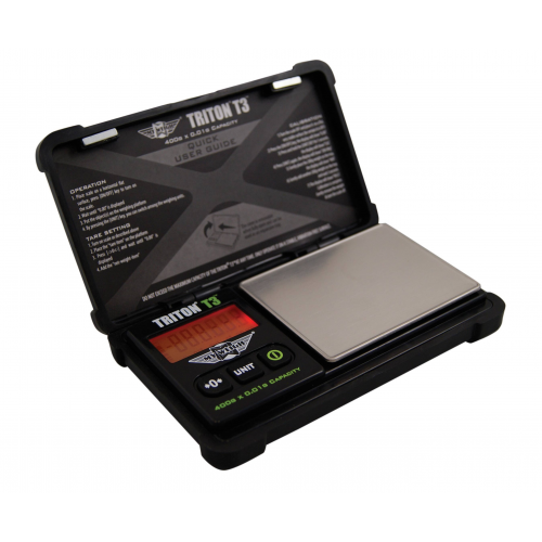 My Weigh Triton T3 400g x 0.01g Pocket Scale with Calibration Weights