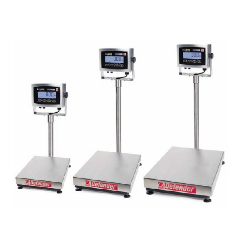 OHaus Defender 3000 Stainless Steel Series Bench Scale