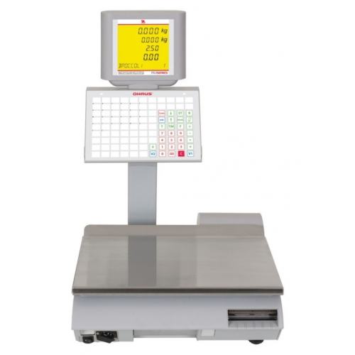 Ohaus RU Advanced Ticket and Label Printing Retail Scale