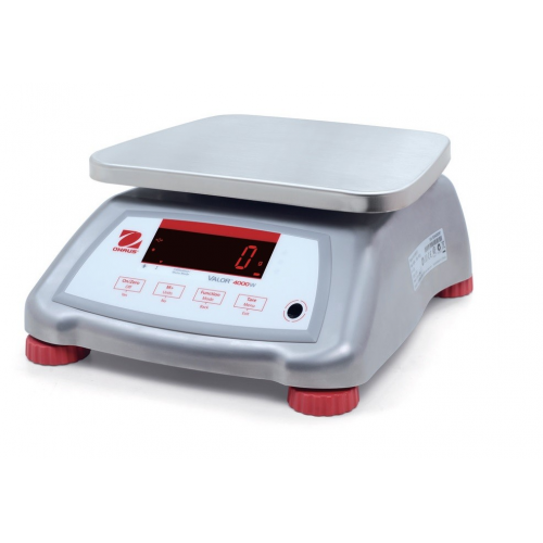 OHaus Valor 4000 Trade Approved Compact Bench Scale with Stainless Steel Housing