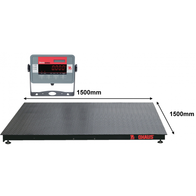 OHaus DF Floor Scale with Indicator