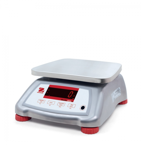 OHaus Valor 2000 Version 2 Compact IP68 Bench Scale with Stainless Steel Housing