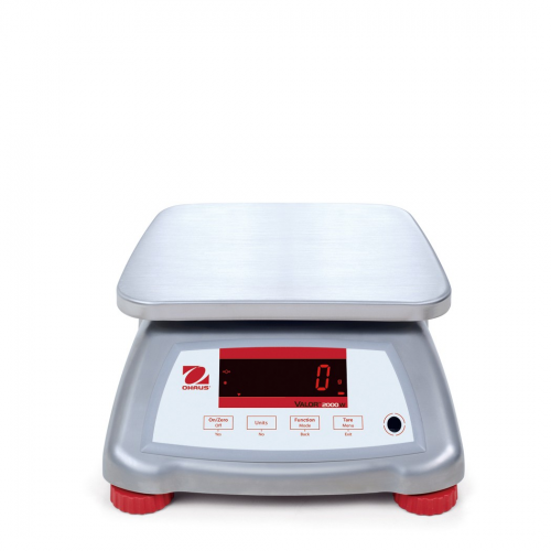 OHaus Valor 2000 Version 2 Stainless Steel IP68 Bench Scales