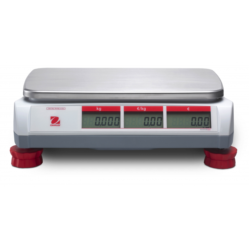 Ohaus Aviator 5000 Price Computing Retail Scale