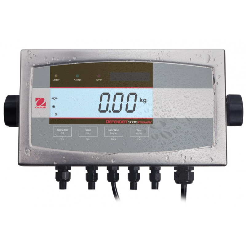Ohaus T51XW Multifunctional Washdown Industrial Indicator