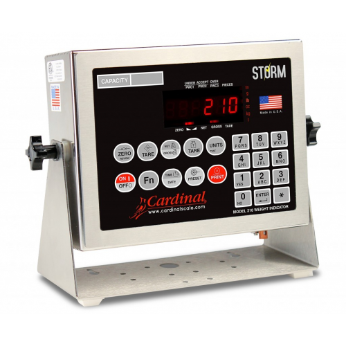 Cardinal 210 Checkweighing Weight Indicator